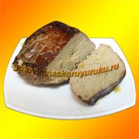 Фотография готового блюда: Печенка, жаренная в духовом шкафу.