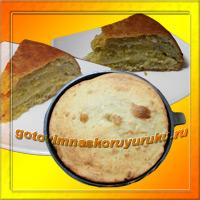 Чебуречный пирог