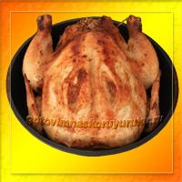Фотография готового блюда: Курица, фаршированная гречкой.