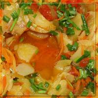 Фотография готового блюда: овощное рагу