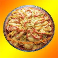 Фотография готового блюда: Пицца.